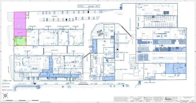 GEL Site Plan